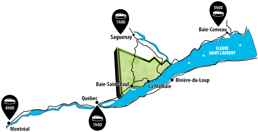 Carte Charlevoix